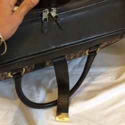 Christian Dior occasion - Valise à main fermeture