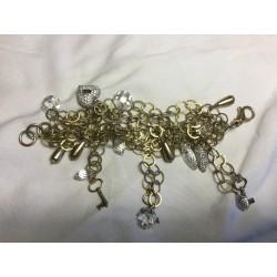 Bracelet ancien en argent...