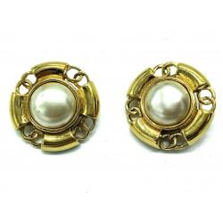 Clips d'oreilles Chanel vintage