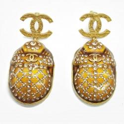 Boucles d'oreille Chanel vintage