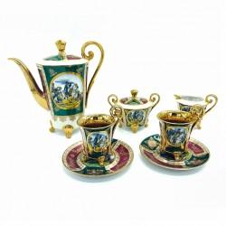 Service à café en porcelaine JK Carlsbad
