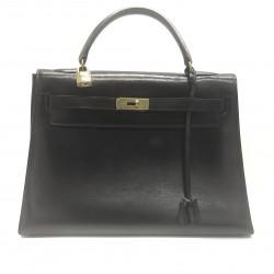 Hermès - Kelly 32 cuir noir